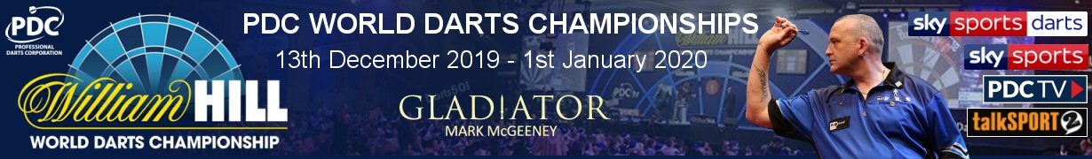 William Hill - PDC World Darts Championships 2020 - Mark McGeeney