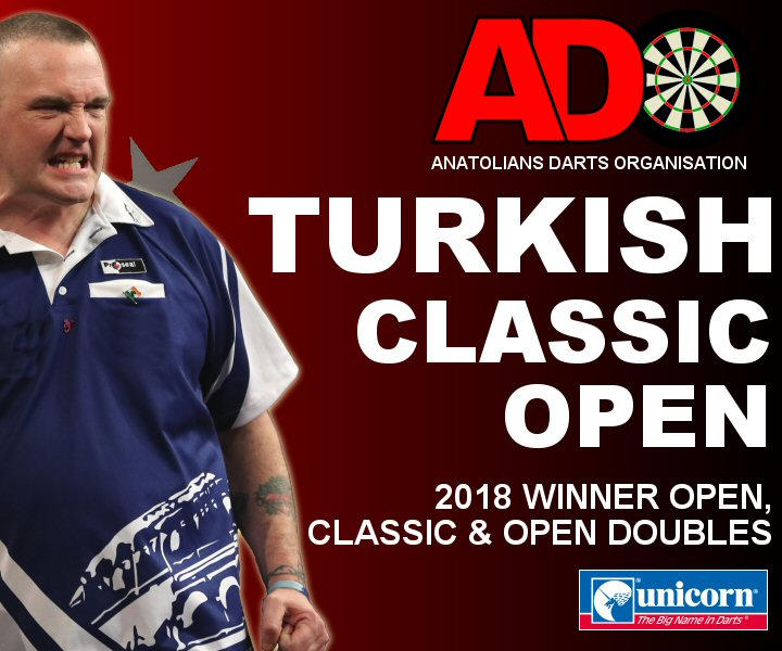 Turkish Darts Open and Classic Champion 2018